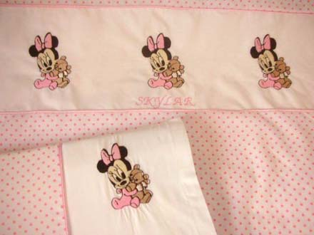 embroidered baby linen
